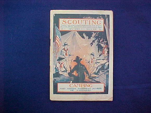 MAY 1917 SCOUTING EQUIPMENT NUMBER CATALOG, 5.5