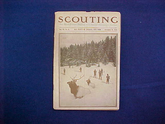 NOVEMBER 1919 SCOUTING EQUIPMENT NUMBER CATALOG, 5.5