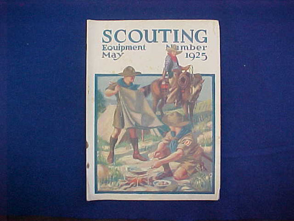MAY 1925 SCOUTING EQUIPMENT NUMBER CATALOG, 8