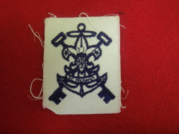 Sea Scout Purser 1966-Present Cloth Back
