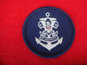 Sea Scout Universal Emblem Cloth Back