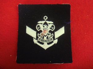 Assistant Crew Leader on Navy Blue Felt 1949-80