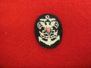 Sea Scout Collar Patches Cloth Back