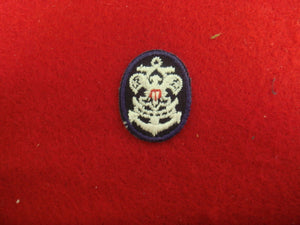 Sea Scout Collar Pathces Plastic Back