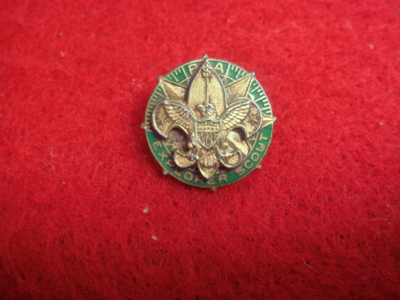 Explorer Scout Universal Lapel Pin 1935-49 15MM Diameter Markered