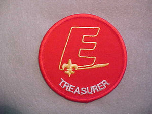 EXPLORER TREASURER 76MM,EXPLORER E ON LINE,GRAY LETTERS.1990-98