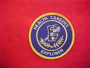 EXPLORER HEALTH CAREERS PATCH
