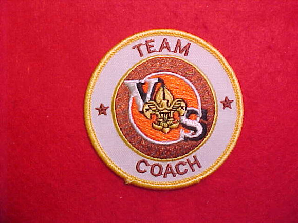 VARSITY SCOUT TEAM COACH,WHITE TWILL,1984-89