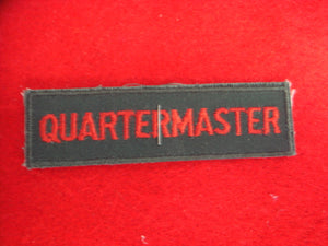 Quartermaster 1958-69 Cloth Back