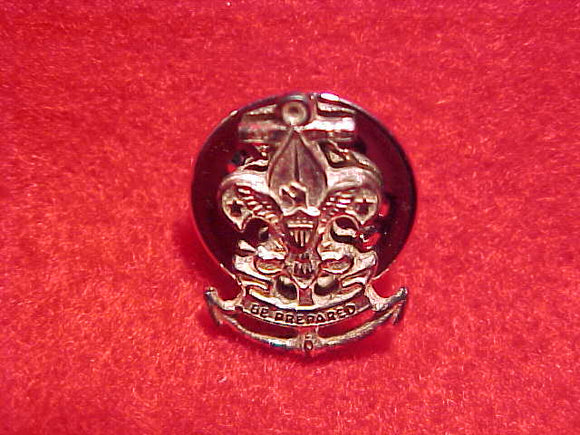 SEA SCOUT PIN, CLUTCH BACK PIN STYLE, 14MM TALL