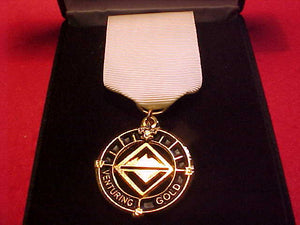 Venturing BSA Gold Award, Pendant is gold & black, issued early 2000's+