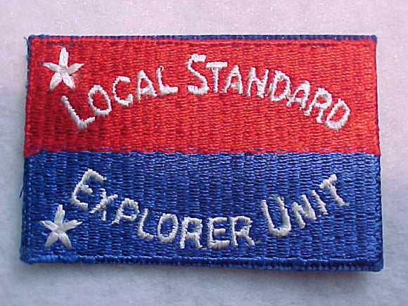 LOCAL STANDARD EXPLORER UNIT PATCH