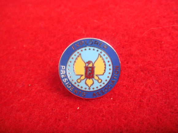 Explorer Presidents Association Pin