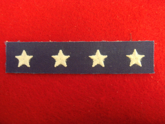 Regional/National Officer Rating Strip