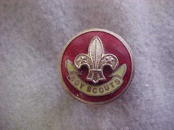 British Boy Scout Assistant Scoutmaster pin,post-WWII,20 mm diameter