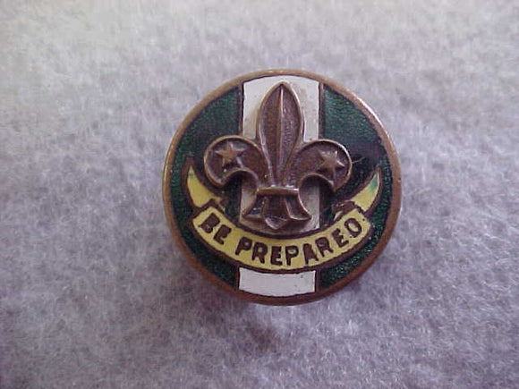 British Boy Scout Group Scoutmaster pin,pre-WWII,18 mm diameter