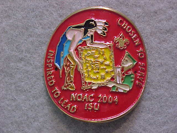 HIKING STICK EMBLEM, NOAC 2004