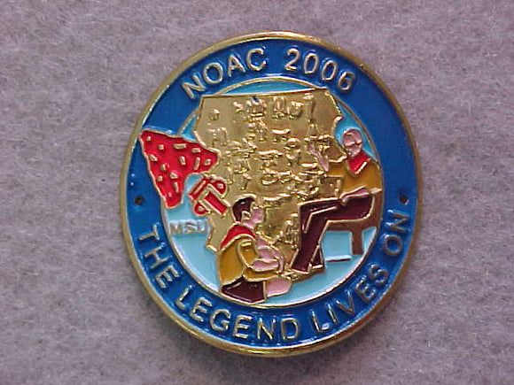 HIKING STICK EMBLEM, NOAC 2006