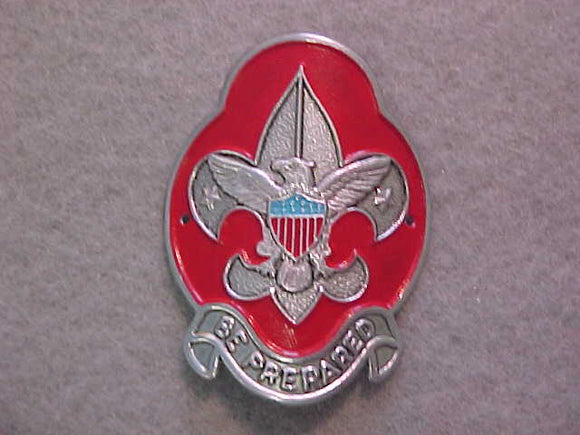 HIKING STICK EMBLEM, BSA TENDERFOOT/ SCOUTING LOGO