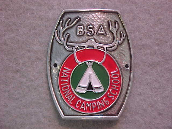 HIKING STICK EMBLEM, BSA NATIONAL CAMPING SCHOOL