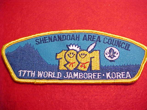 1991 SHENANDOAH AREA, WORLD JAMBOREE, STANDARD SHAPE