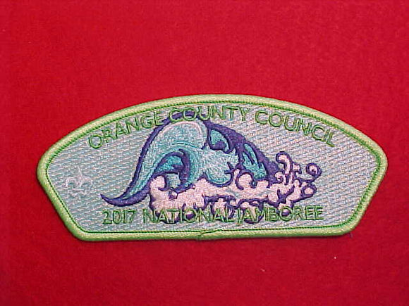 2017 NJ ORANGE COUNTY COUNCIL, GREEN BORDER, 100 MADE