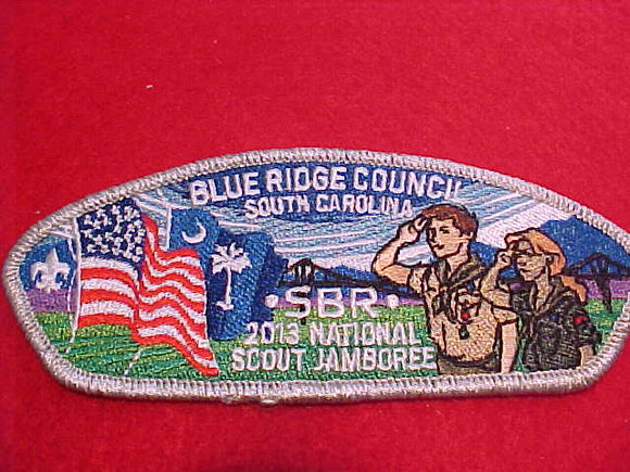 2013 BLUE RIDGE, 2 PER PARTICIPANT, SMY BORDER