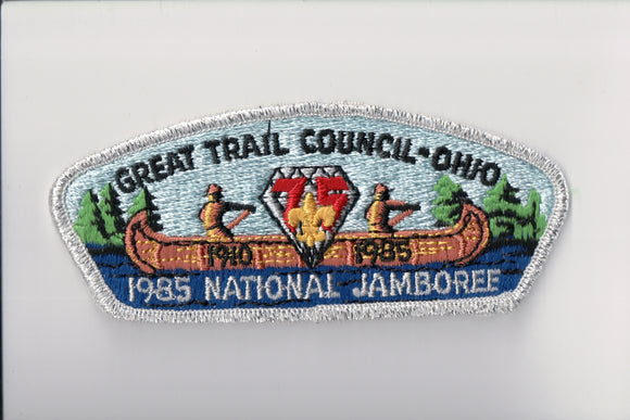 1985 Great Trail C Ohio, 1910-1985, 75th anniversary