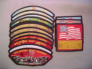 2010 BALTIMORE AREA COUNCIL, 15 PATCH SET