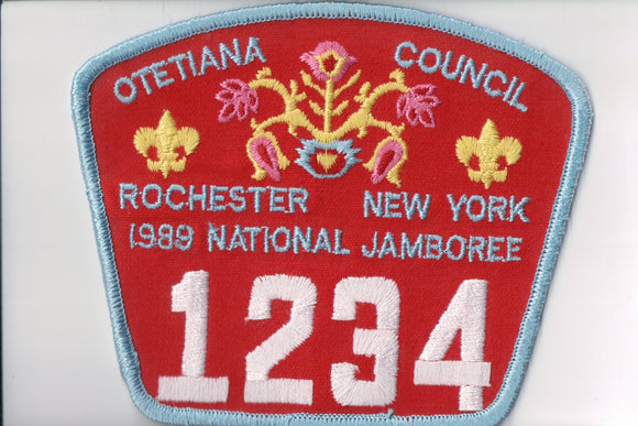 1989 Otetiana C Rochester, New York, troop 1234