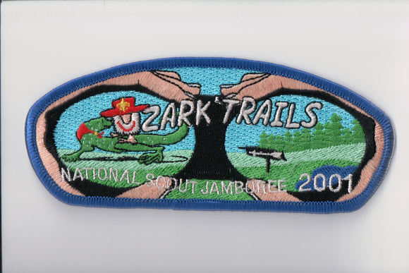 2001 Ozark Trails C., Blue Bdr.
