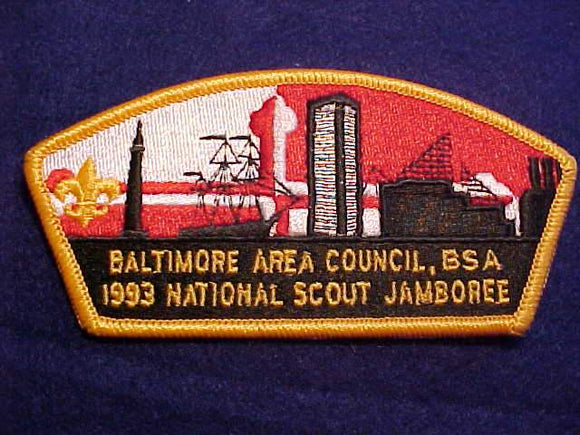 1993 NJ JSP, BALTIMORE AREA C., YELLOW BDR.