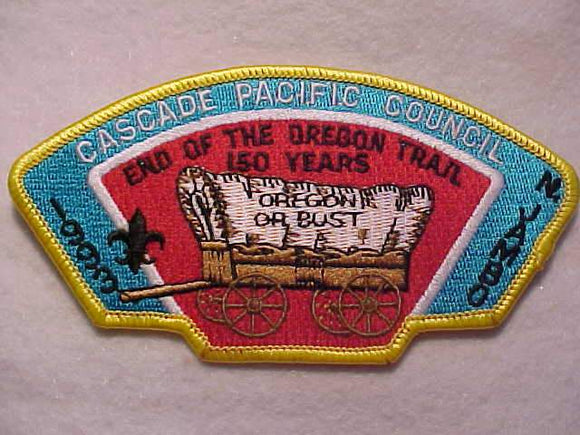 1993 NJ JSP, CASCADE PACIFIC C, END OF THE OREGON TRAIL, YELLOW BDR.