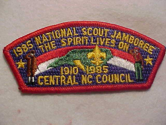 1985 NJ JSP, CENTRAL NC C., RED BDR.