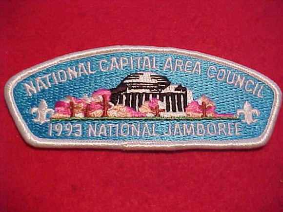 1993 NJ JSP, NATIONAL CAPITAL AREA C., WHITE BDR.