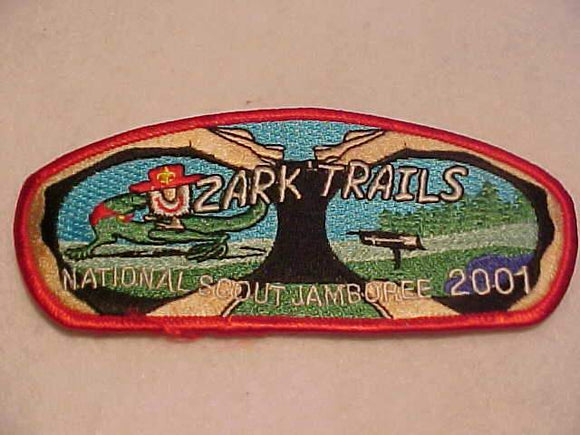 2001 NJ JSP, OZARK TRAILS, RED BDR.