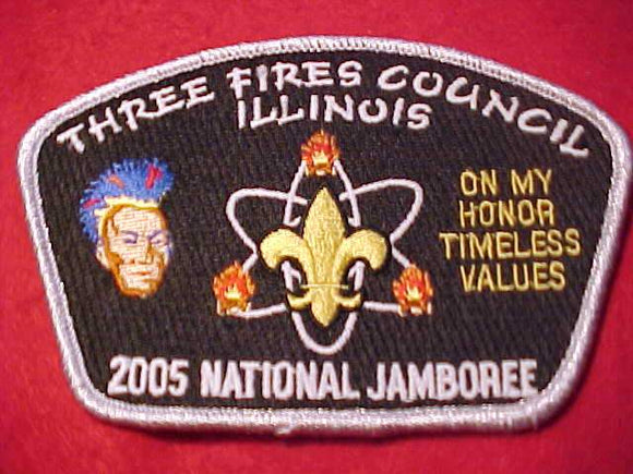 2005 NJ JSP, THREE FIRES C., ILLINOIS, SMY BDR.