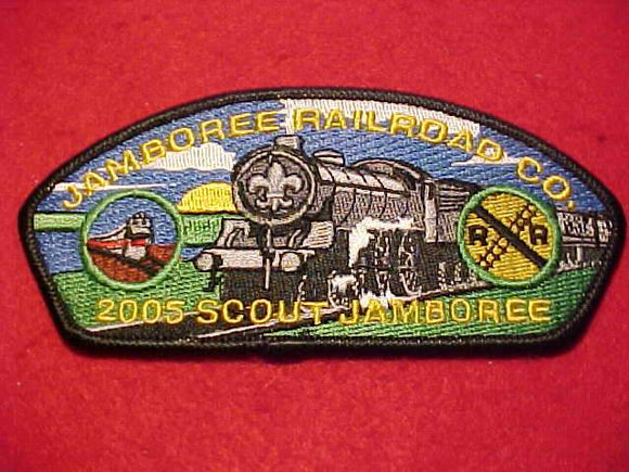 2005 NJ JSP, JAMBOREE RAILROAD CO., RAILROAD MERIT BADGE STAFF
