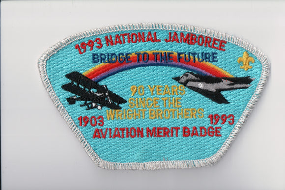 1993 Aviation Merit Badge 90 Years Since the Wright Brothers