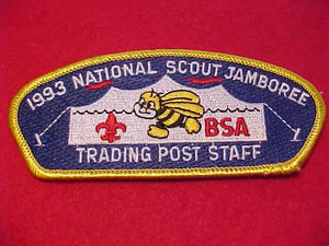 "1993 NJ JSP, TRADING POST ""B"" STAFF"