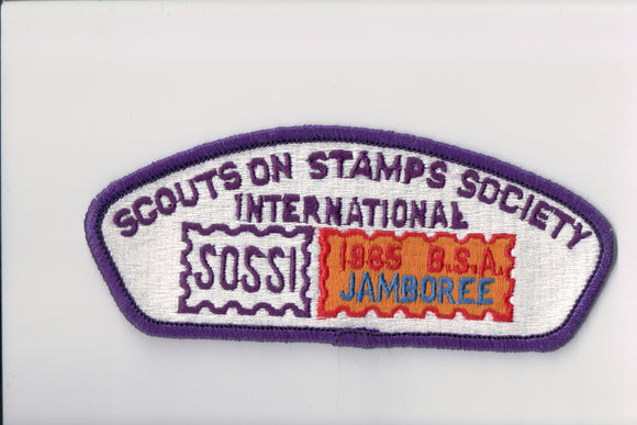 1985 Scouts on Stamps Society SOSSI