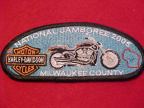 2005 JSP, MILWAUKEE COUNTY C., HARLEY-DAVIDSON MORORCYCLES