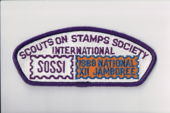1989 Scouts on Stamps Society SOSSI