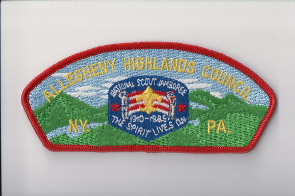 1985 Allegheny Highlands C 1910-1985
