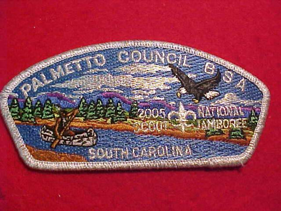 2005 PALMETTO C., SOUTH CAROLINA, SMY BDR., PARTICIPANT ISSUE, 2 PER SCOUT