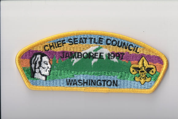 1997 Chief Seattle C yellow border