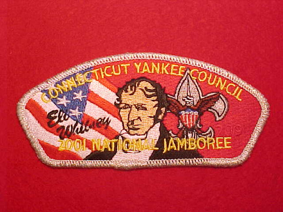 2001 CONNECTICUT YANKEE COUNCIL, ELI WHITNEY