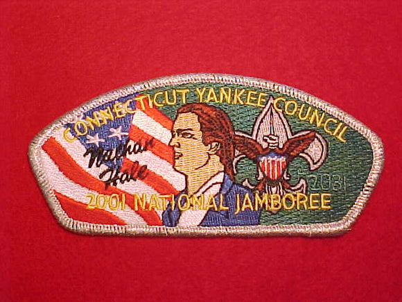 2001 CONNECTICUT YANKEE COUNCIL, NATHAN HALE
