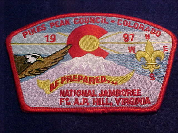 1997 JSP, PIKE'S PEAK C., RED BKGR.