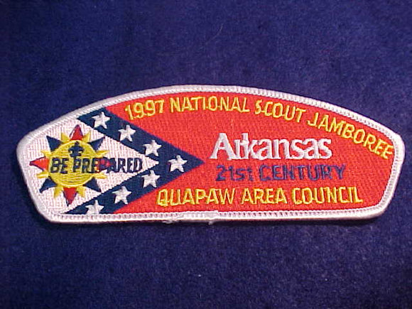 1997 JSP, QUAPAW AREA C., ARKANSAS, WHITE BDR.